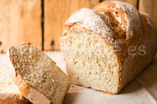 pan blanco receta